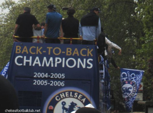chelsea parade 2006 mourinho top left